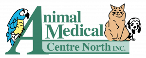 logo of animal medical centre north inc in grande prairie alberta